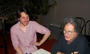 Tam de Villiers et Yvan Amar pendant l'interview Jazz Club 1